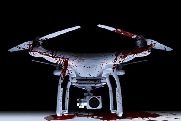 Lần đầu tiên một bộ phim kinh dị có kẻ sát nhân là… drone