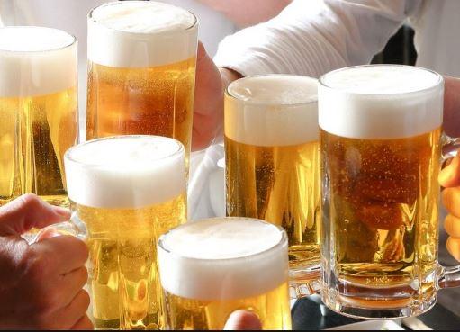 Không được uống bia để giải độc rượu