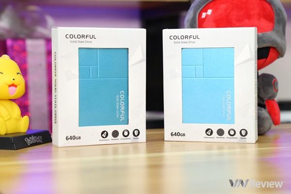 Đánh giá nhanh ổ SSD Colorful SL500 Limited Summer Edition 640GB: Tạm biệt ổ HDD truyền thống?