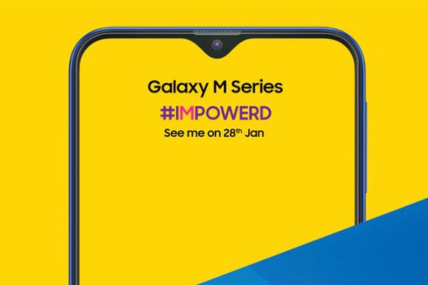 Samsung xác nhận ra mắt dòng Galaxy M vào 28/1