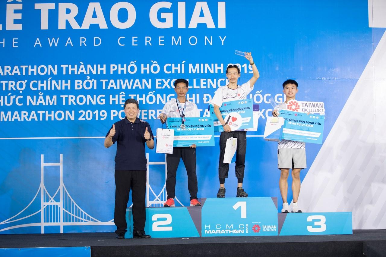 Taiwan Excellence tiếp tục đồng hành cùng giải HCMC Marathon 2019