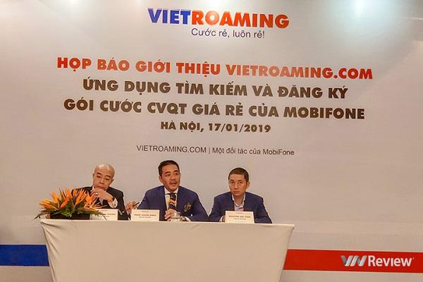 VR Telecom trình làng Vietroaming.com, ứng dụng đăng ký gói cước chuyển vùng quốc tế giá rẻ cho thuê bao MobiFone