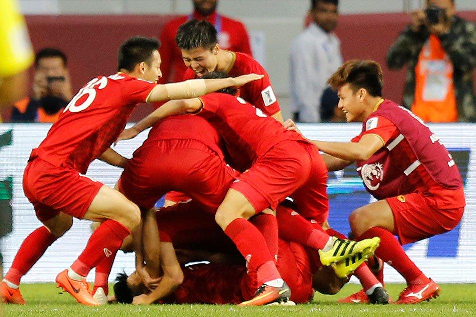Trận đấu Jordan - Việt Nam đạt kỷ lục người xem mới trên sóng truyền hình Hàn Quốc