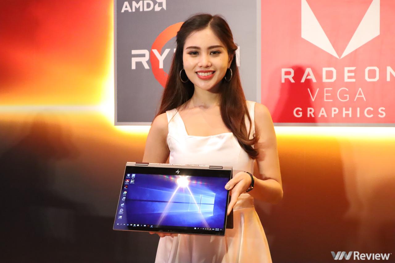 HP trình làng loạt laptop và desktop mới tại VN sử dụng vi xử lý AMD Ryzen, giá từ 8,4 triệu đồng