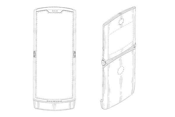 Lộ bản vẽ thiết kế Motorola RAZR 2019 với màn hình gập