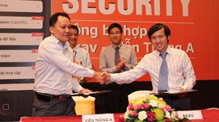 Viễn Thông A và Bkav hợp tác cung cấp giải pháp Mobile Security