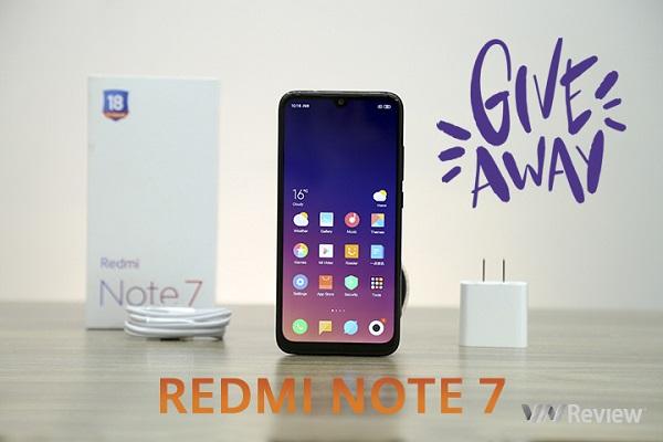 Tặng Xiaomi Redmi Note 7 cho thành viên group Facebook VnReview