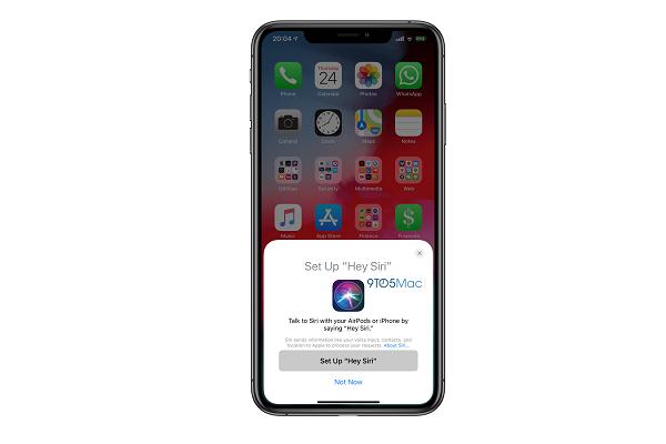 """Rò rỉ giao diện thiết lập """"Hey Siri"""" cho AirPods 2 trên iOS 12.2"""
