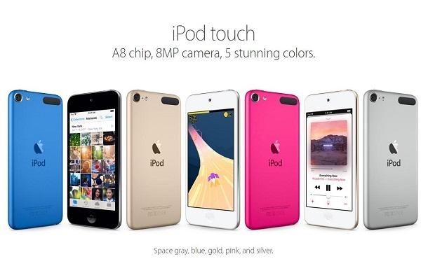 Apple sẽ biến iPod thế hệ tiếp theo thành tay console chơi game?