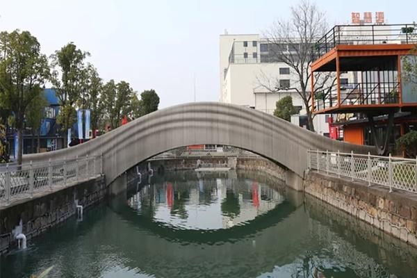 Thượng Hải khánh thành cầu bê tông in 3D dài nhất thế giới