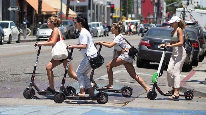 Xe scooter chạy điện đang tạo ra một loạt chấn thương cho người dùng