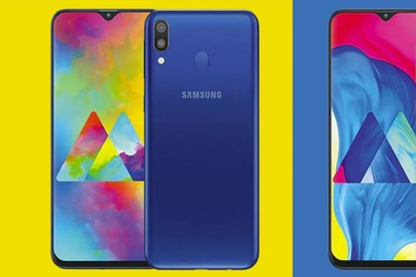 Samsung giới thiệu Galaxy M10, Galaxy M20 với màn hình Infinity-V, camera góc rộng