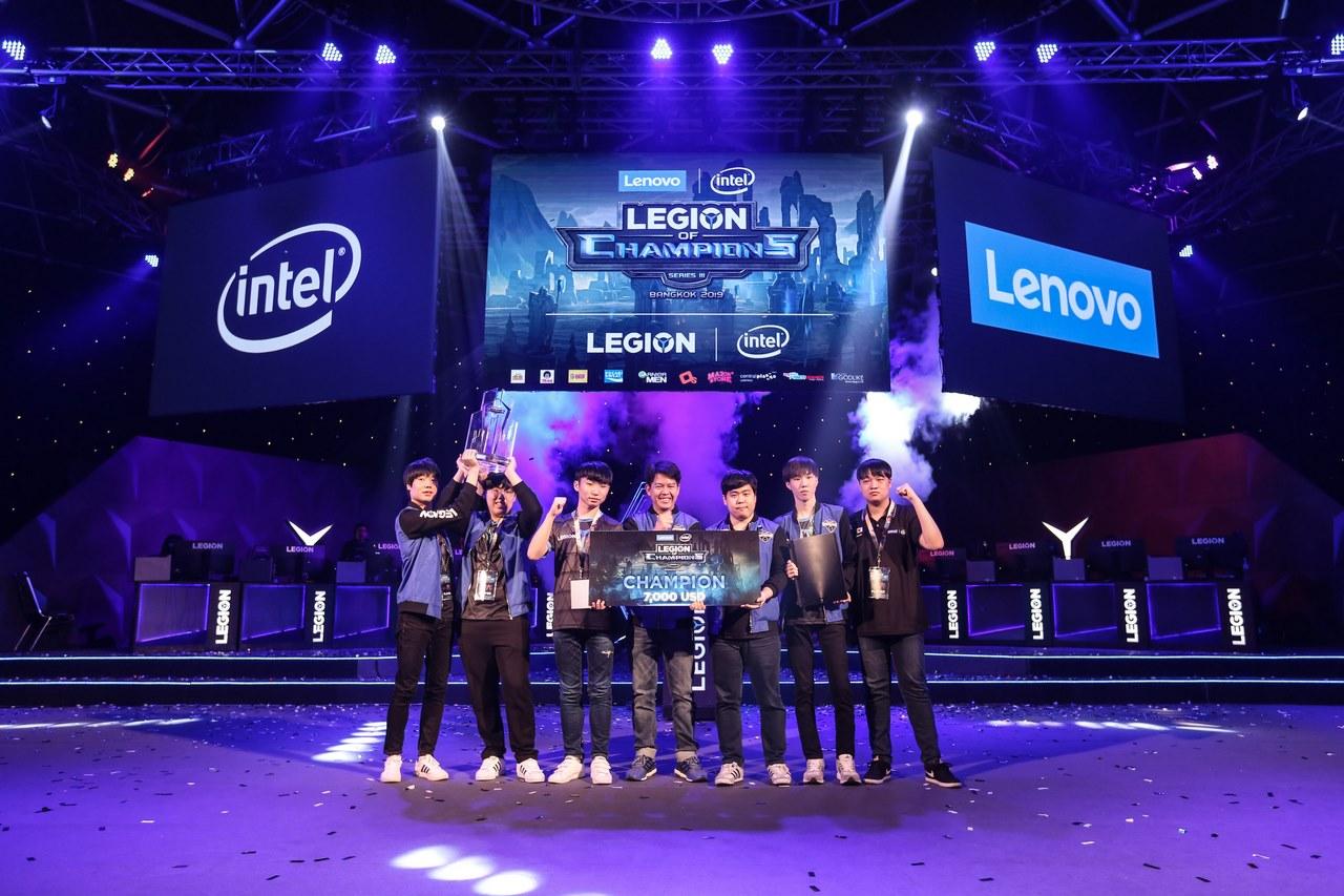 Việt Nam đứng thứ 4 tại giải eSports Legion of Champions III 2019 do Lenovo và Intel đồng tổ chức