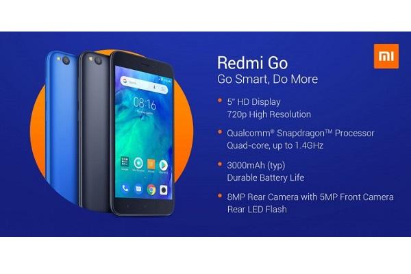 Xiaomi ra mắt Redmi Go: màn 5 inch, chạy Android Go, RAM 1GB, giá 2,2 triệu đồng ở châu Âu