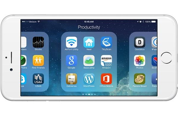 Tại sao iPhone lại giới hạn 9 ứng dụng trong mỗi trang thư mục?