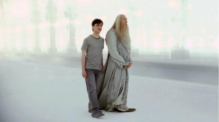 Harry gặp lại cụ Dumbledore sau khi bị giết