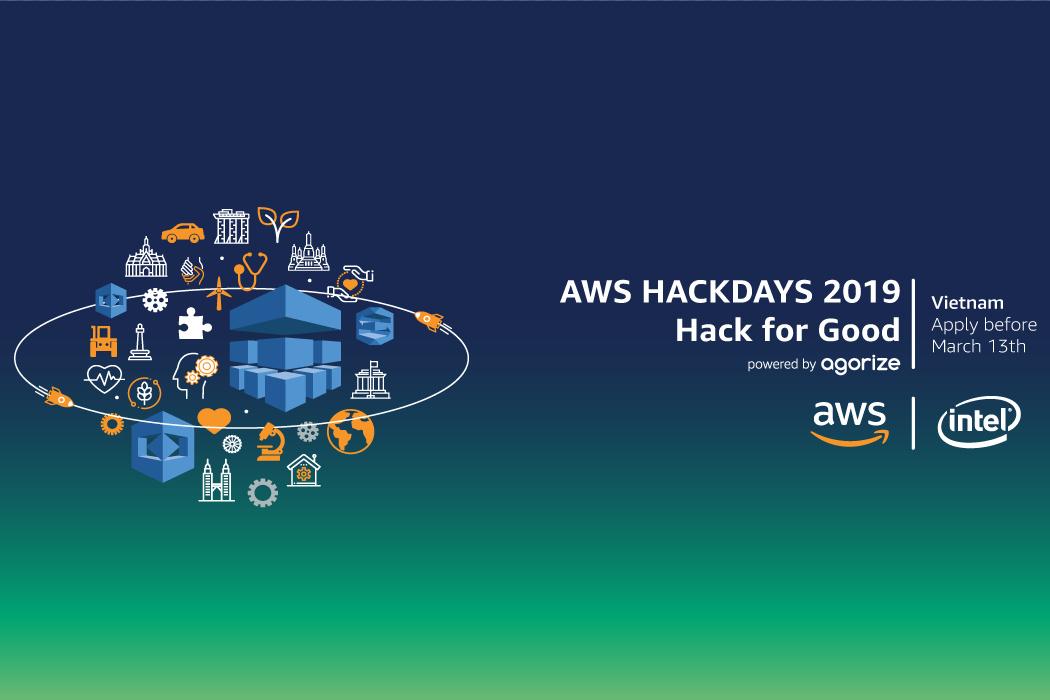 Khởi động cuộc thi AWS Hackdays 2019: Hack for Good, thúc đẩy sáng tạo và đổi mới trong khu vực Đông Nam Á