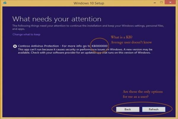 """""""Màn hình xanh chết chóc"""" của Windows sẽ sớm được thay đổi để dễ hiểu và hữu ích hơn"""