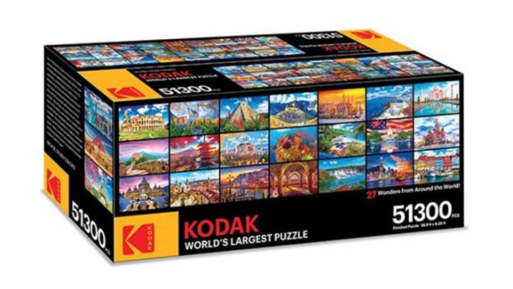 Kodak giới thiệu trò chơi xếp hình lớn nhất thế giới với 51.300 mảnh