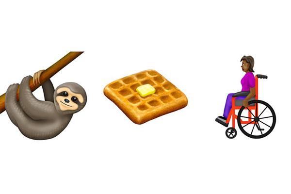 59 emoji mới của năm 2019: xe lăn, bánh quế và con lười