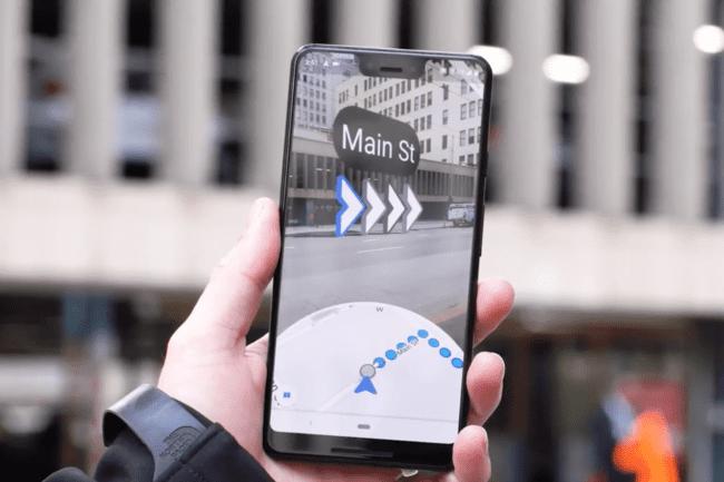 Google thử nghiệm tính năng điều hướng bằng thực tế ảo tăng cường trên Google Maps