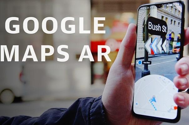 Google Maps trình làng tính năng điều hướng bằng AR