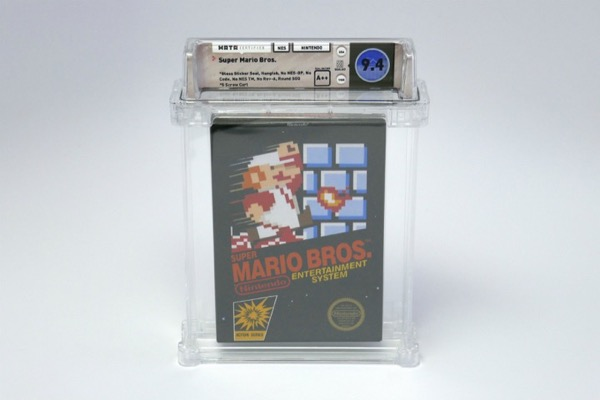 Băng game Super Mario Bros nguyên seal được đấu giá hơn 2 tỷ đồng