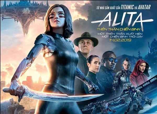 'Alita: Thiên thần chiến binh' - Kỹ xảo đẹp mắt, hành động mãn nhãn
