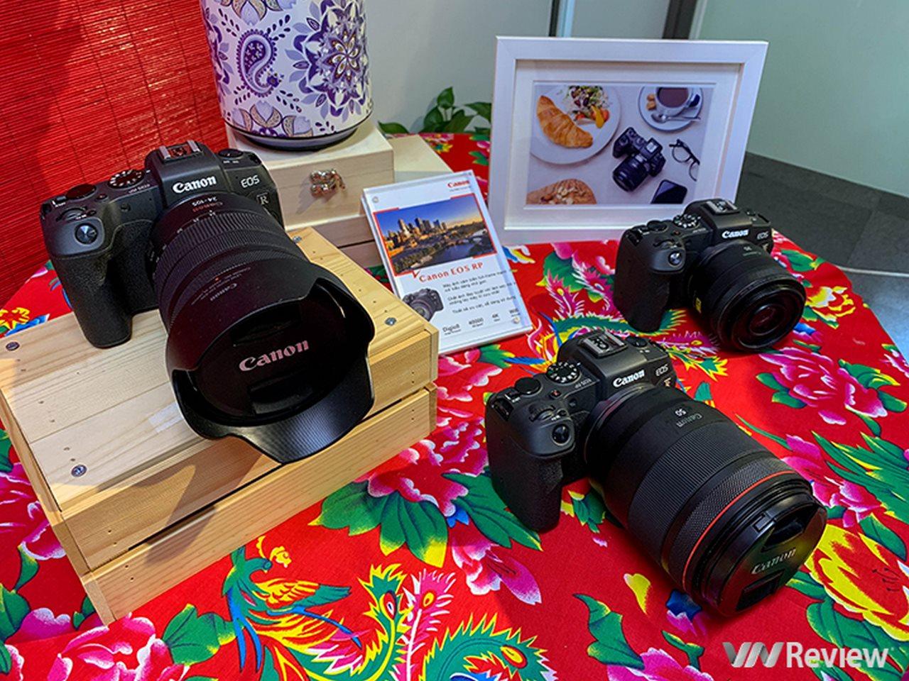 Mirrorless full-frame nhỏ gọn Canon EOS RP chính thức bán ra tại VN, giá từ 38 triệu đồng