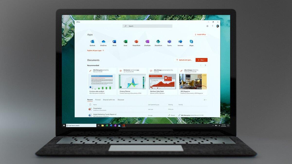 Tải Office mới miễn phí cho người dùng Windows 10
