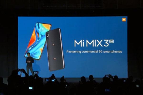 [MWC 2019] Xiaomi Mi MIX 3 5G ra mắt: Snapdragon 855, 5G, giá 16 triệu