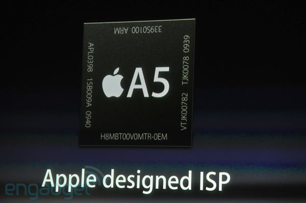 iPhone 4S vẫn dùng RAM 512MB