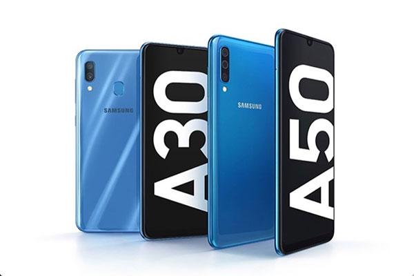 """[MWC 2019] Galaxy A30 và A50 ra mắt: màn """"giọt nước"""", camera góc siêu rộng"""