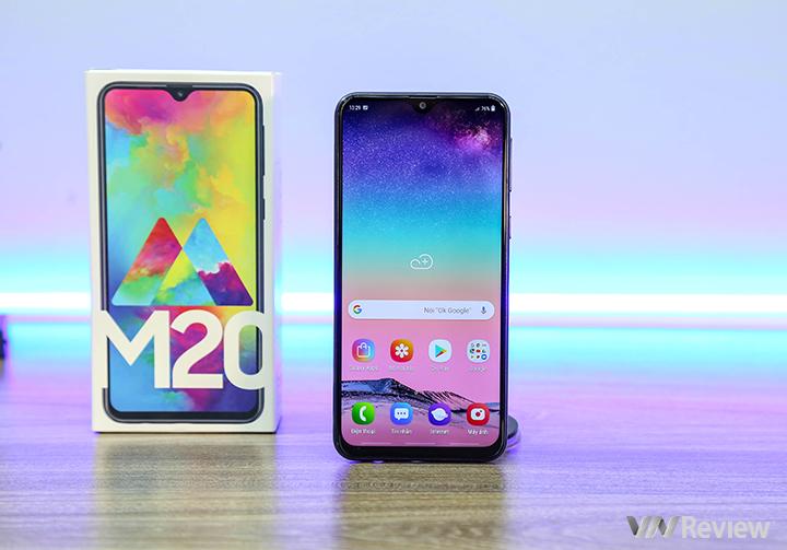 Đánh giá Galaxy M20: câu trả lời của Samsung với smartphone Trung Quốc