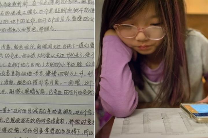 Cô bé 13 tuổi ở Trung Quốc kiếm được cả núi tiền trong dịp Tết nhờ... làm hộ bài tập về nhà