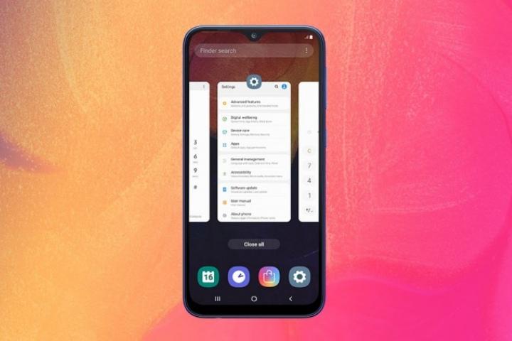Samsung trình làng Galaxy A10: màn hình giọt nước 6.2 inch, giá 120 USD