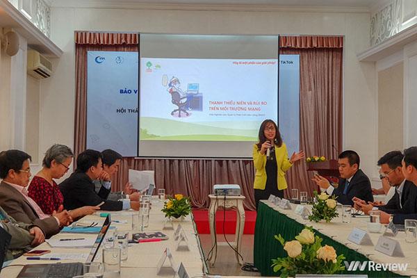 Cần tạo môi trường trực tuyến an toàn cho trẻ em và thanh thiếu niên Việt Nam