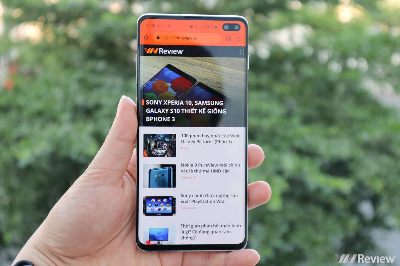 """Đánh giá pin Samsung Galaxy S10+: pin """"trâu"""" hơn S9+, sạc ngược không dây đơn giản"""