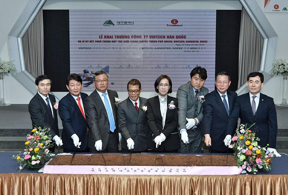 VinTech đầu tư 11 triệu USD mở văn phòng nghiên cứu nước ngoài đầu tiên tại Hàn Quốc