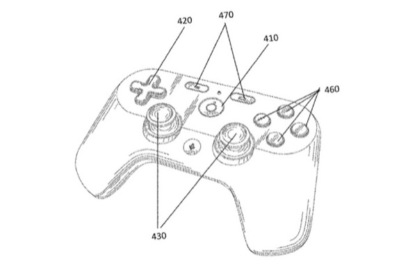 Đây là tay cầm của Google cho dịch vụ chơi game mới sắp ra mắt?