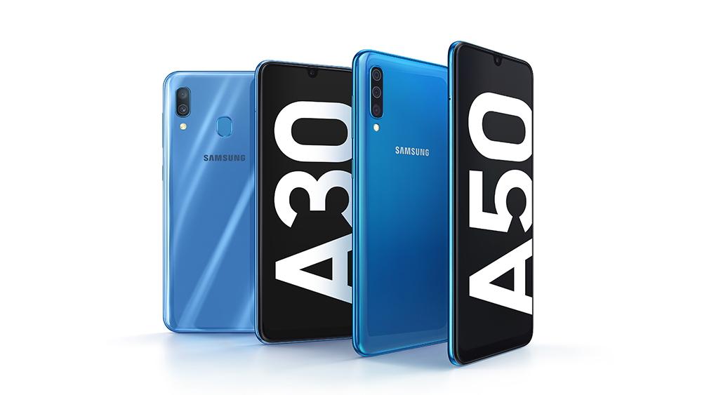 Samsung Galaxy A50 và Galaxy A30 bắt đầu lên kệ ở VN, giá 5,9 triệu đồng đến 7,99 triệu đồng