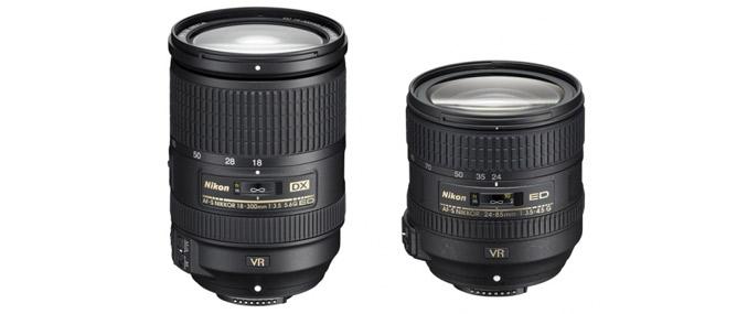 Nikon ra mắt hai ống zoom mới