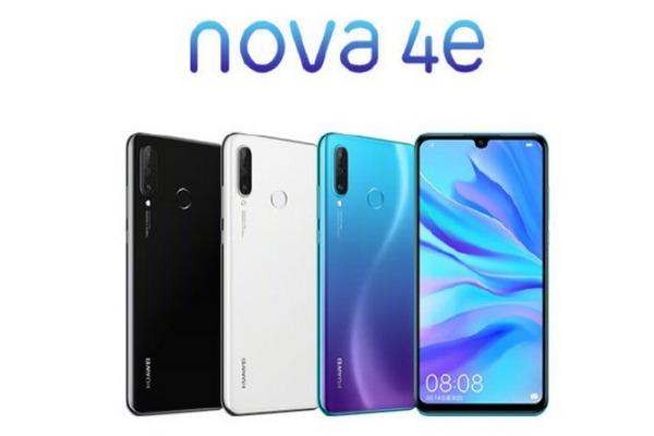 Huawei Nova 4e ra mắt: màn 6.2 inch, chip Kirin 710, 3 camera sau, giá từ 6,9 triệu đồng