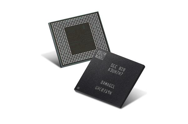Samsung tiến hành sản xuất hàng loạt bộ nhớ DRAM LPDDR4X 12GB cho điện thoại thông minh