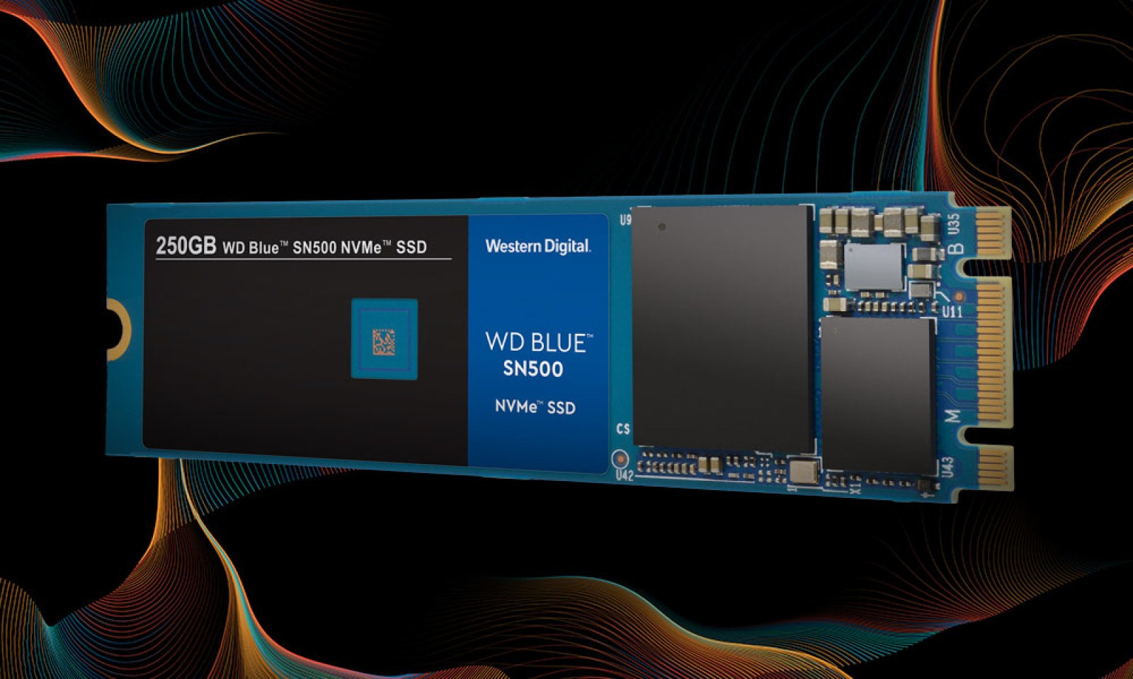 SSD NVMe WD Blue SN500