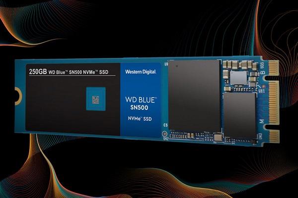 WD ra mắt dòng SSD Blue SN500 NVMe tốc độ ổn, giá hấp dẫn