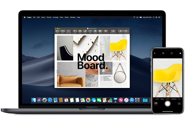 Sử dụng iPhone, iPad để chụp ảnh hoặc scan tài liệu cho máy Mac