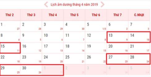 Giỗ tổ Hùng Vương và 30/4-1/5 năm 2019 được nghỉ mấy ngày?