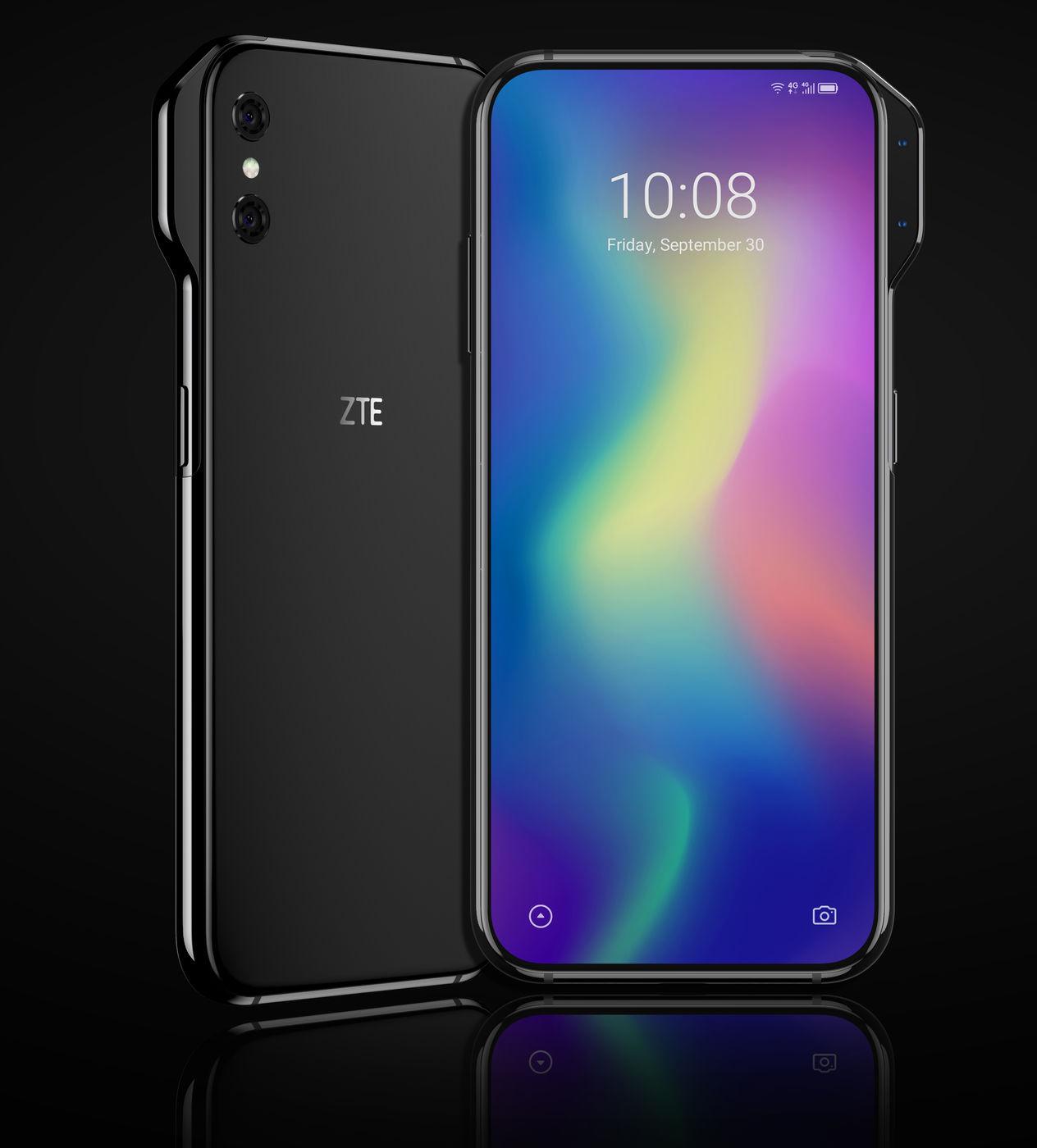 ZTE Axon V - Smartphone có camera cạnh bên