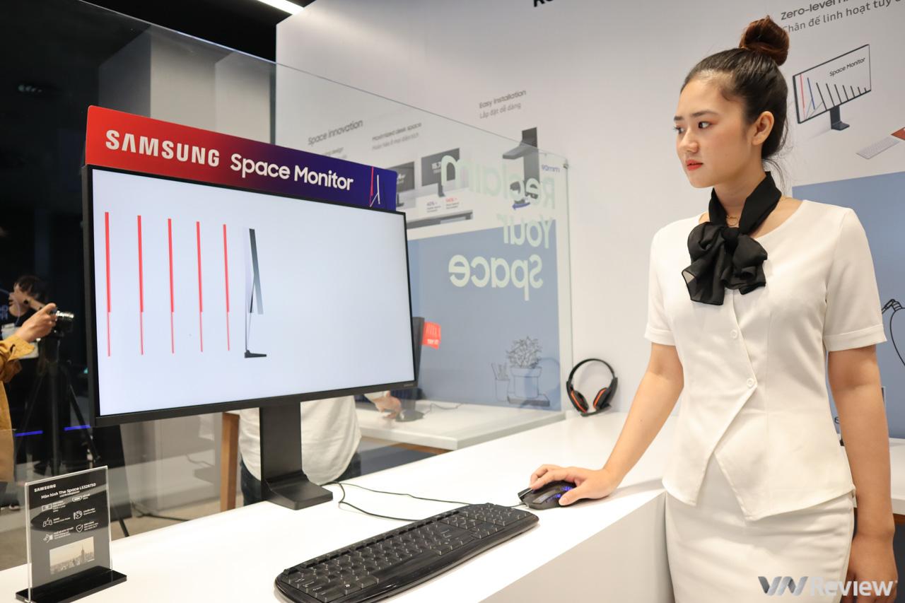 """Samsung Space chính thức về Việt Nam: Màn hình với chân đế cực """"dị"""", có thể gắn sát tường để tiết kiệm không gian, giá từ 15 triệu đồng"""